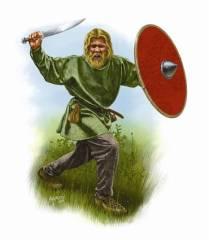 Saxon Warrior 6th Century