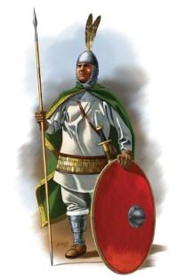 Soldier of Exkoubitoi, ninth century