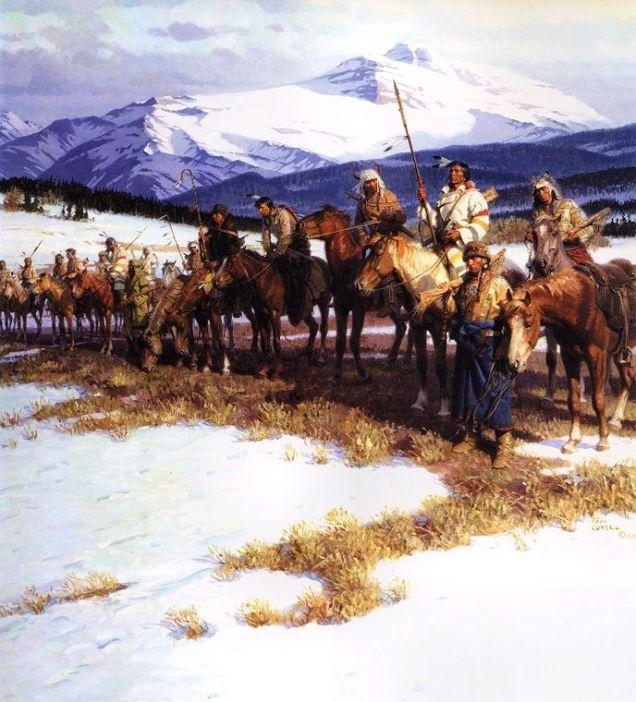 The Blackfeet Wall