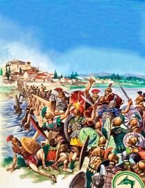 Horatius Holds the Bridge