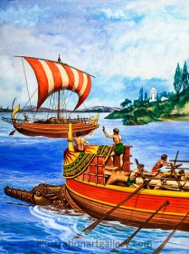 Who Were the First Sailors