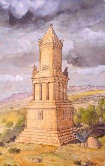 afrique-tunisie-dougga-thucca-mausolee