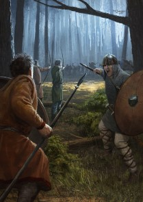 carolingian_forest_melee_by_ethicallychallenged-d8qmvgc