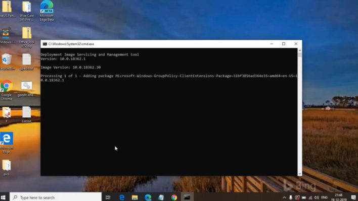 Enable group policy editor(Gpedit.msc) in windows 10 home