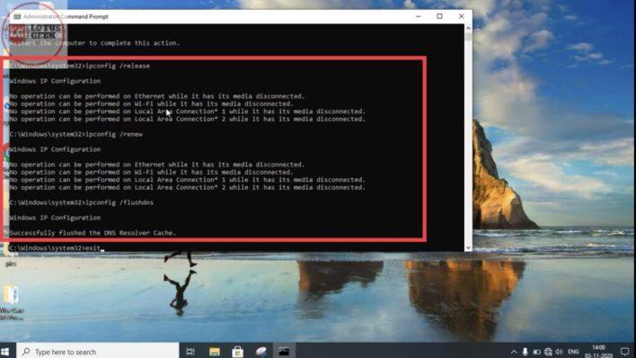 WiFi not showing in settings windows 10