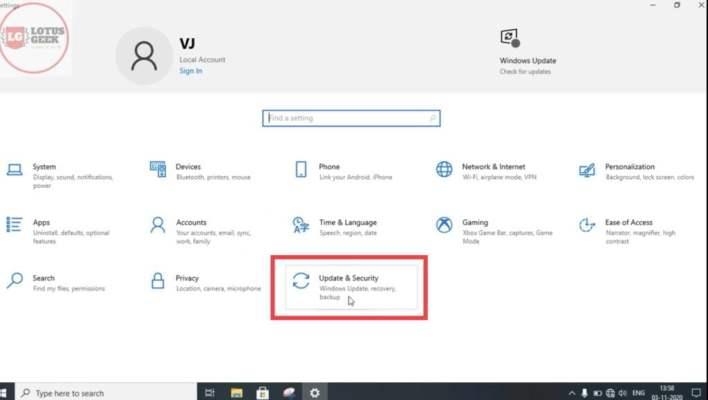 wifi not showing in settings of windows 10