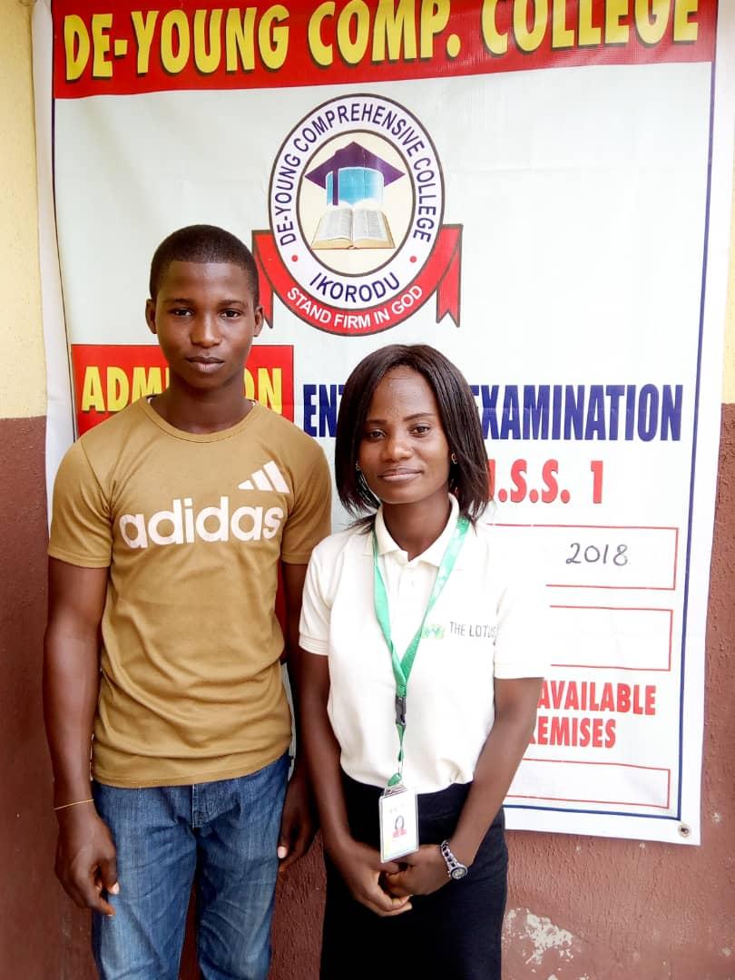 Lotus Africa Program Manager With Wisdom Olaoti