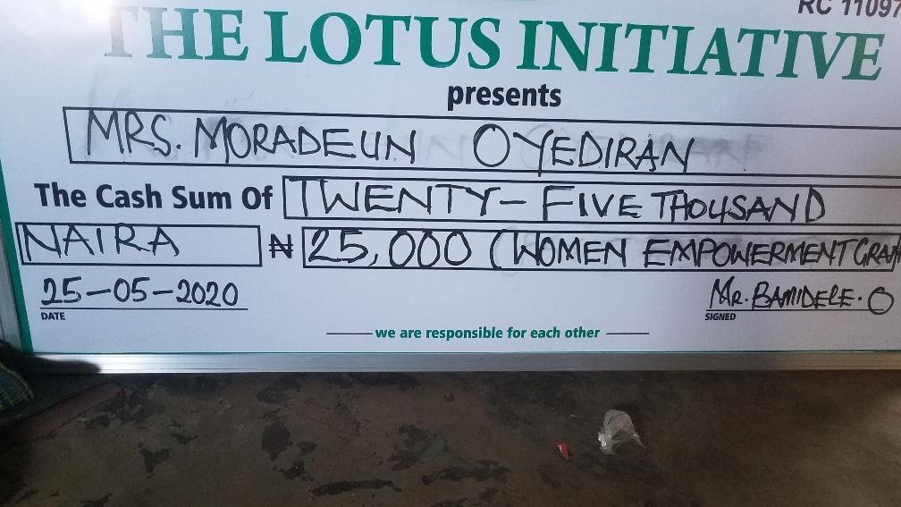 Women Empowerment Grant Granted