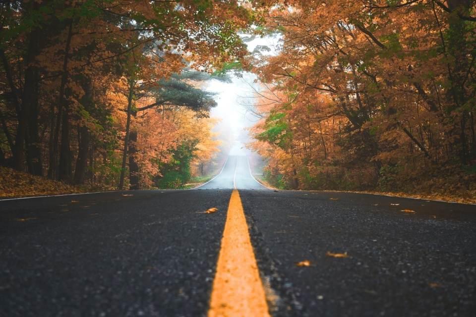 Kansas road in Canada