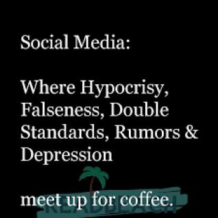 hypocrisy on the internet