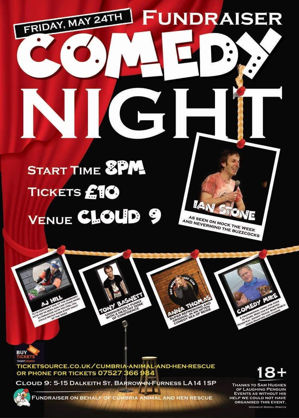 Fundraiser Comedy Night