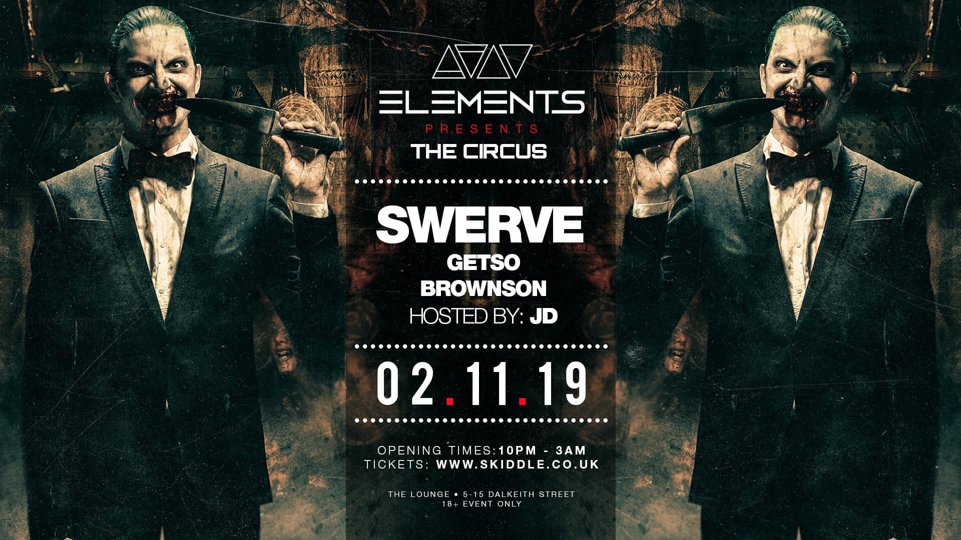 Elements presents: THE CIRCUS