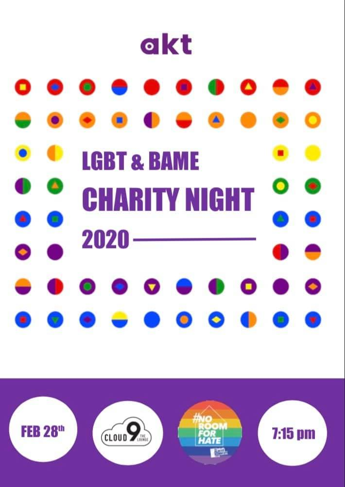 LGBT & BAME Charity Night