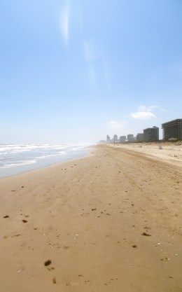 We've reached the Gulf of Mexico! South Padre Island, TX