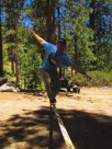 Cartwheel. Buckhorn Campground, Angeles National Forest, SoCal.