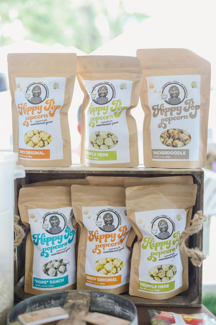 Hippy Pop Popcorn at the Ojai Wine Festival
