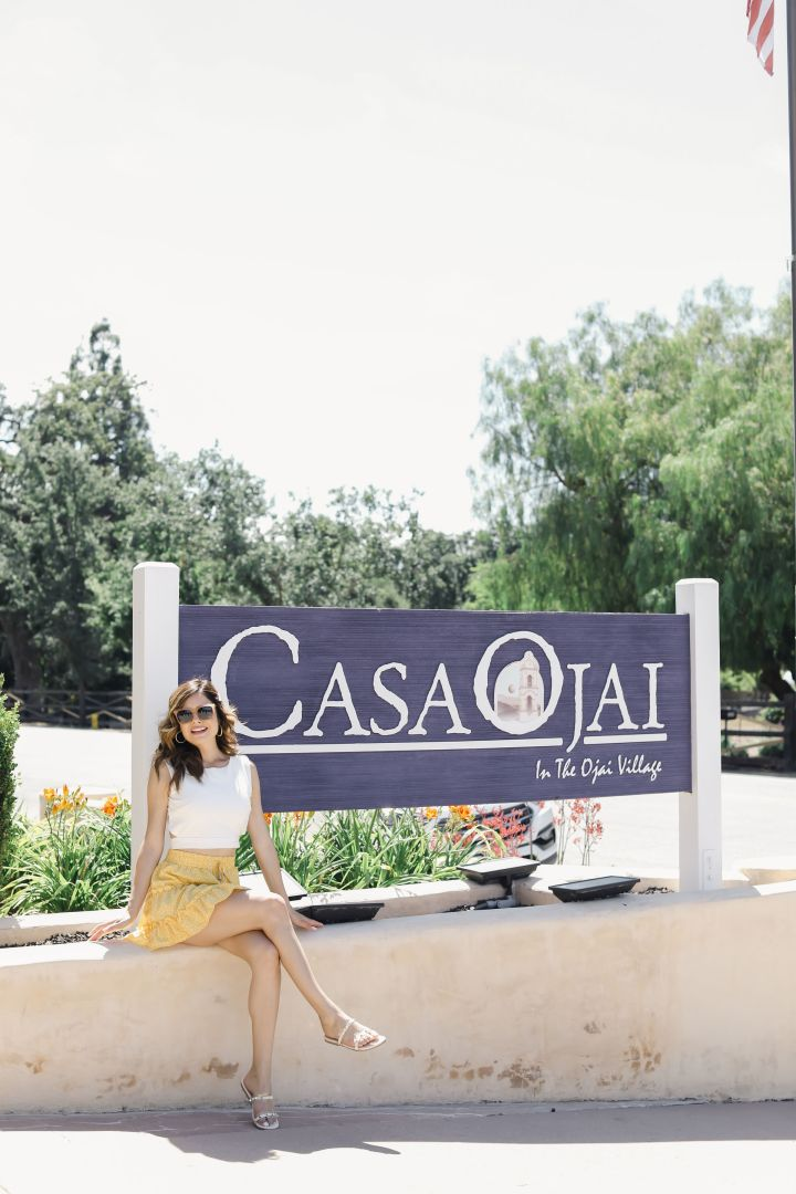 Kristin Reveles at Casa Ojai
