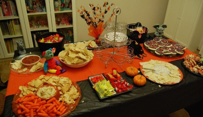 Our first Halloween party!