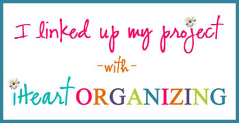 I linked up with iHeart Organizing!