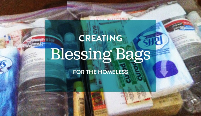 Creating Blessing Bags