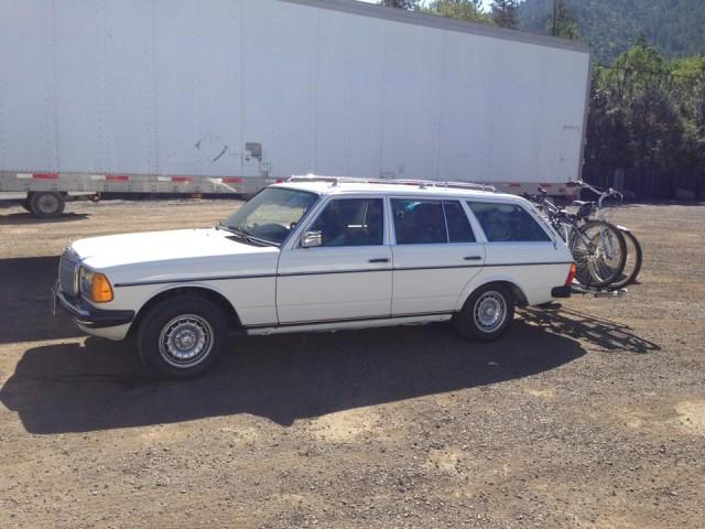 Joshua's Benz