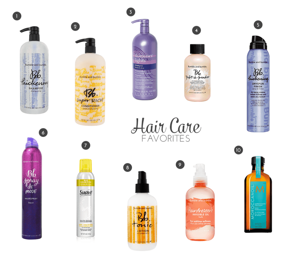Hair Essentials 2014
