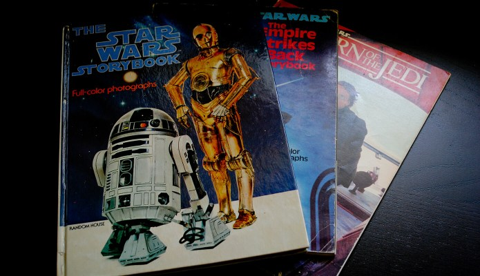Vintage Star Wars Books