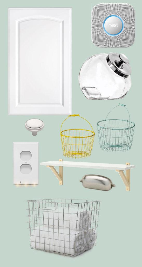 Laundry Room Plan #thelovelygeek