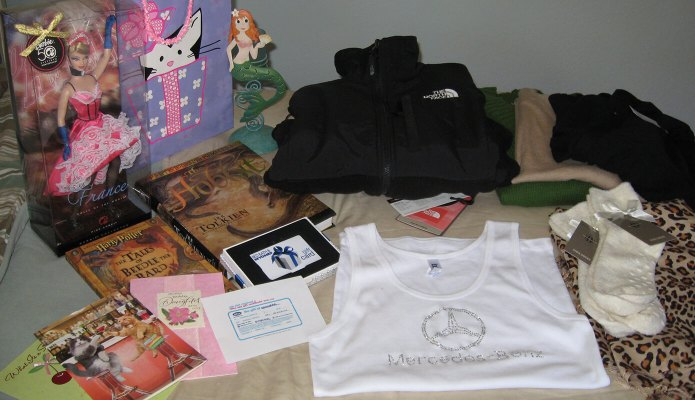2009 Birthday Haul