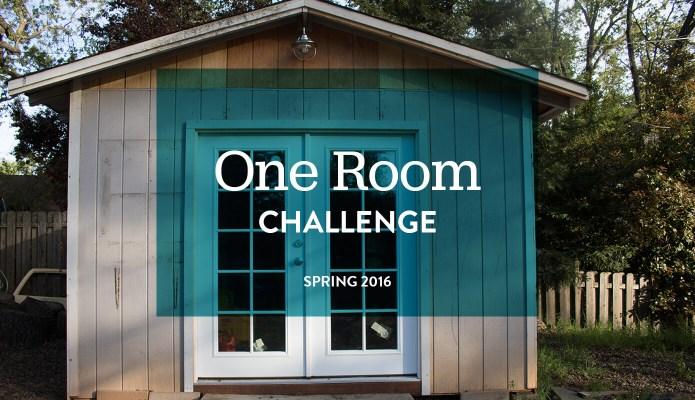 One Room Challenge: Spring 2016 #thelovelygeek #oneroomchallenge