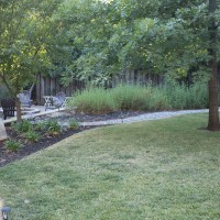 The Backyard at my current house #thelovelygeek