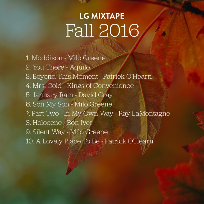 Lovely Geek Mixtape - Fall 2016 #thelovelygeek