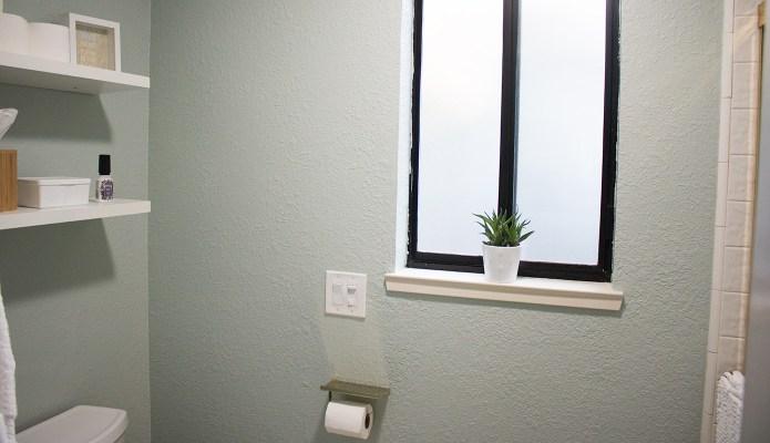 Shower Room Reveal #oneroomchallenge #thelovelygeek