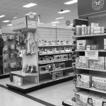 The baby aisle at Target