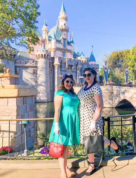 Dani and I at Dapper Day Spring 2018 #thelovelygeek