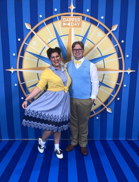 Dapper Day Fall 2018 - Disneybounding as Carl and Ellie from Up