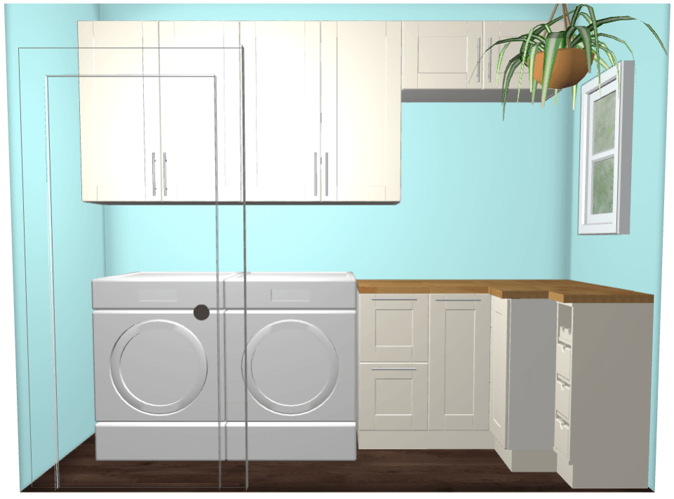 IKEA Laundry Room Plan