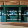 A Place for Three Litter Boxes