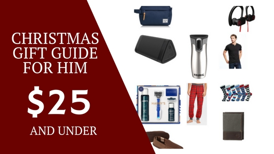 Holiday Gift Guide: Christmas Gifts for Him Under $25