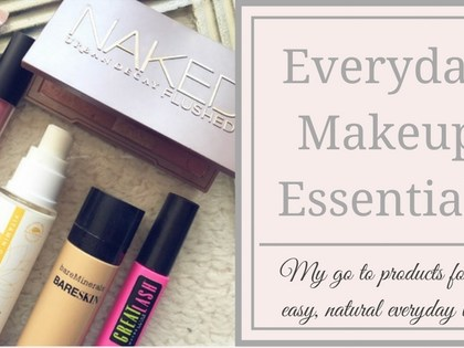 Keepin' It Simple | My Everyday Makeup Products