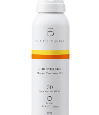 Protect yourself from the sun with Beautycounter's Countersun Sunscreen Mist