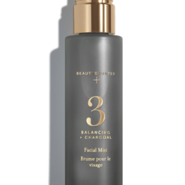 Beautycounter's Balancing Facial Mist helps to balance skin tone, absorb oil and tone down redness - perfect for a beach day!