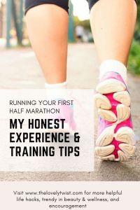 running your first half marathon