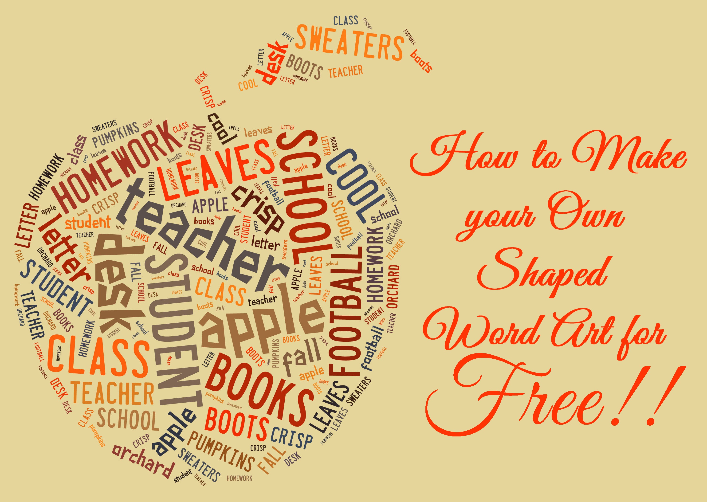 How To Make Free Word Art Online In Fun Shapes