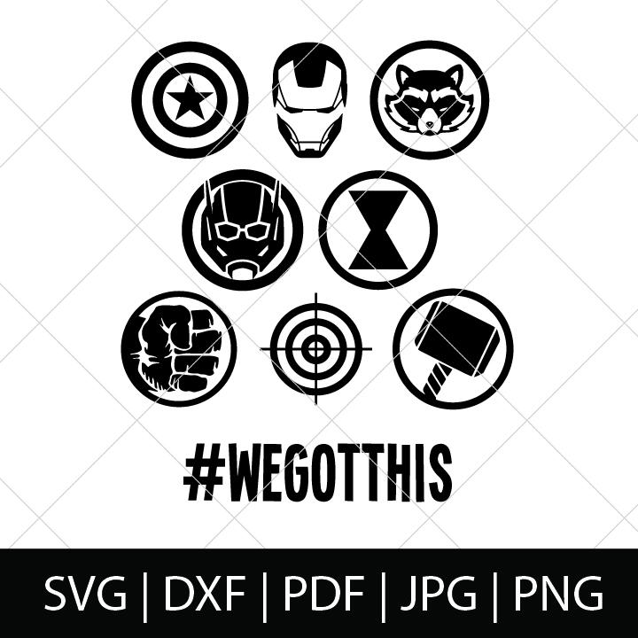 Download Avengers SVG Bundle - The Love Nerds