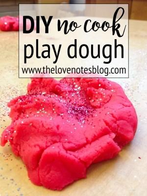 no cook playdough
