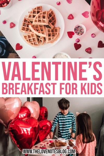 Valentine's Day Breakfast for Kids