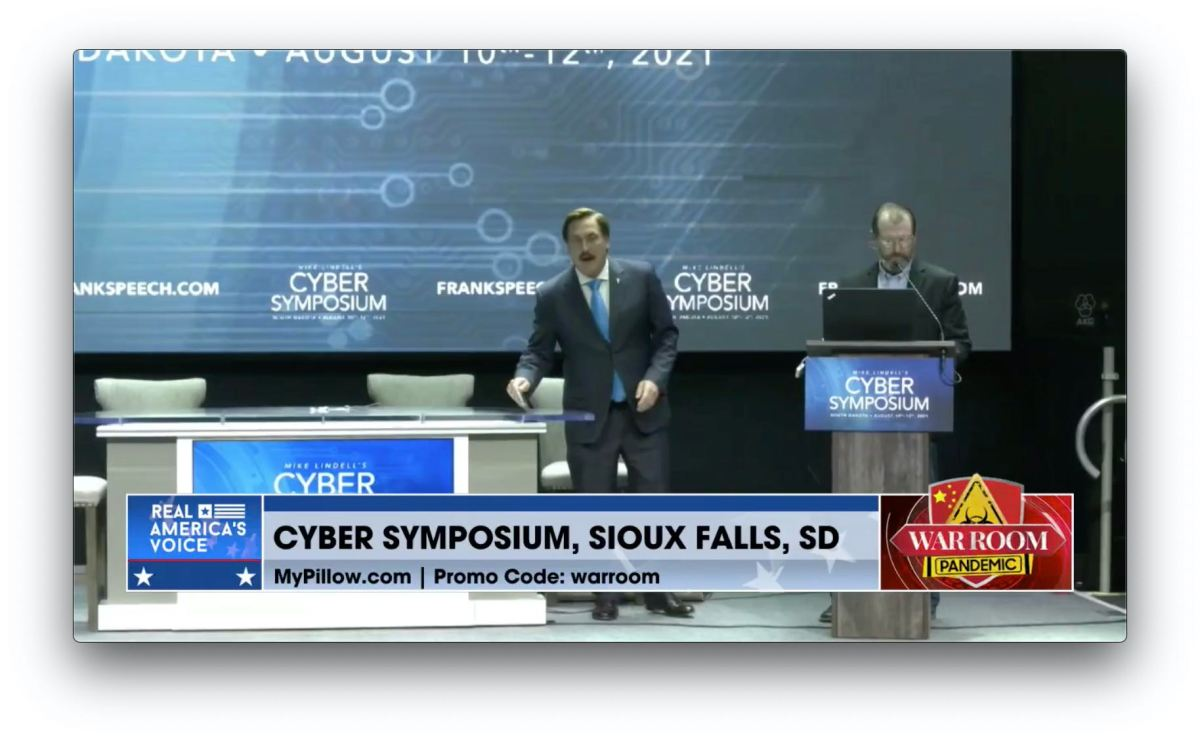 Attacks Tried To Stop Mike Lindell's Cyber Symposium