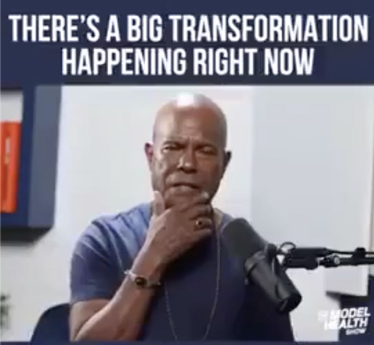 There's A Big Transformation Happening Right Now