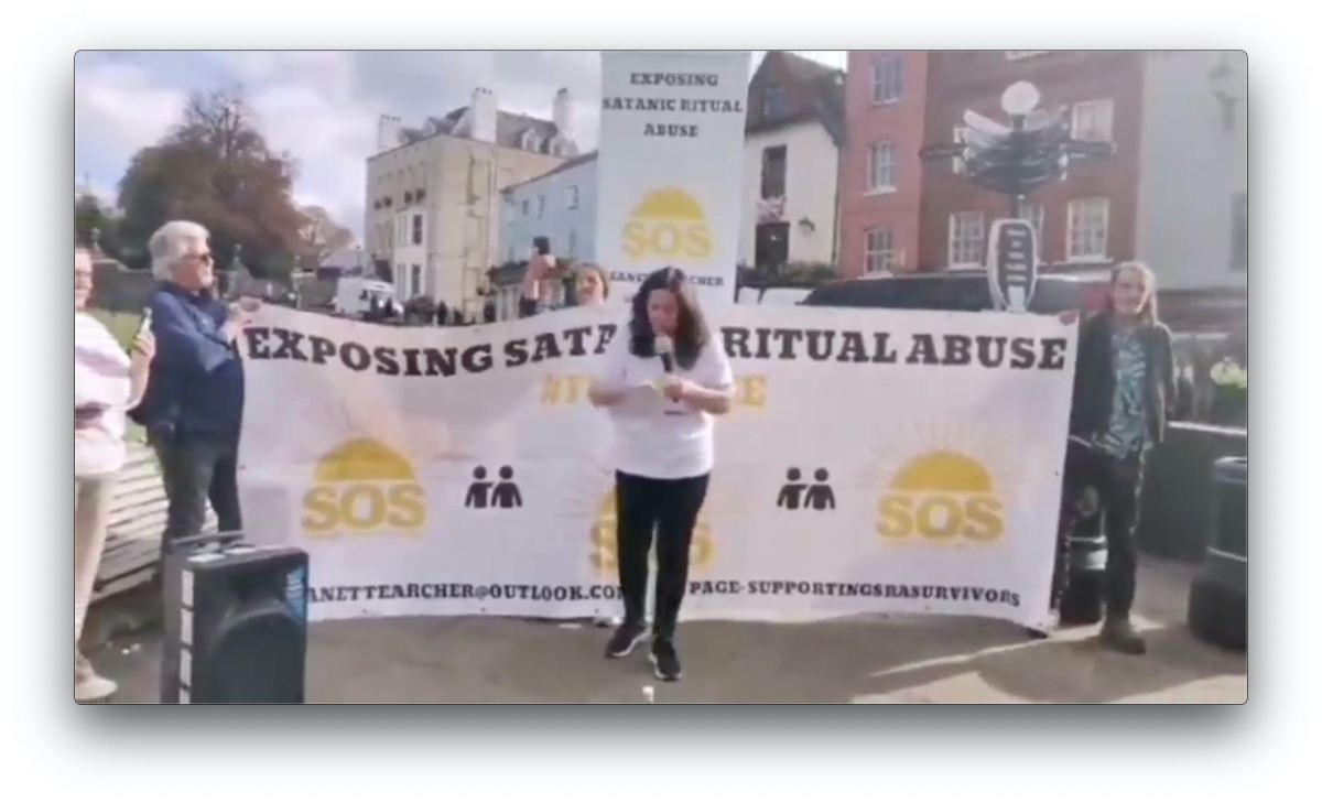 CHILD VICTIM OF SATANIC RITUAL ABUSE RETURNS TO WINDSOR CASTLE TO CALL OUT THE PEDOPHILE QUEEN